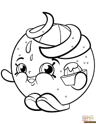 Small Picture Juicy Orange Shopkin Season 2 Coloring Page Free Coloring Pages