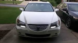 07 Acura RL switchback LED DRL - YouTube