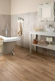 Interesting Wood Floor Tiles Bathroom Pleasant About Home Interior For Perfect Ideas