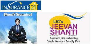 Jeevan Sathi Lic Plan Chart Lic Jeevan Shanti Plan Calculate All Pension Benefits For