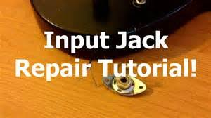 electric guitar input jack wiring diagram images jack wiring how to replace an input jack on an electric guitar