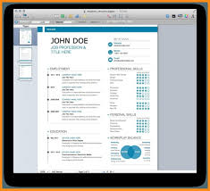 Apple Pages Resume Templates Free Linkinpost Com