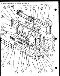Amana model ptc12400e p9806729r air conditioner heat pump outside
