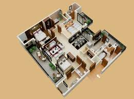 Bedroom ApartmentHouse Plans - House plans interior
