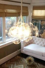fresh floating bubble chandelier and best lighting images on as well as attractive floating bubble chandelier