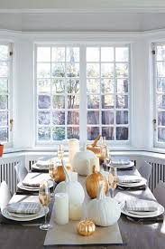 Thanksgiving Home Decor Ideas U2013 Festive Atmosphere In Gold And White (2)