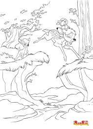 Colora E Ritaglia I Disegni Di Bambi Il Simpatico Cerbiatto Della