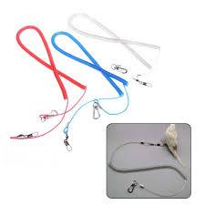 <b>1Pc</b> Colorful <b>Bird Parrot</b> Leash Outdoor Adjustable Harness Training ...