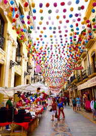Decorations In Spain Ronda Ronda Spain This Was One Of The Main Streets In The Old