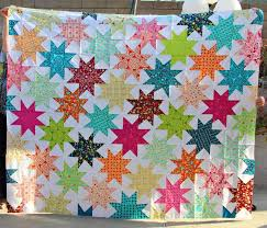 Free Tutorial - Penelope's Star Quilt by Darci & Click Image to Enlarge - Adamdwight.com