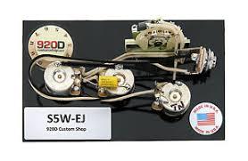 920d fender strat stratocaster wiring harness eric johnson crl image is loading 920d fender strat stratocaster wiring harness eric johnson