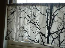 kitchen curtains valance new black and valances ideas red at