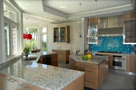 recycled glass countertops trend 17 for modern sofa design