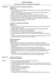 Construction Supervisor Resume Piping Supervisor Resume Samples Velvet Jobs 7
