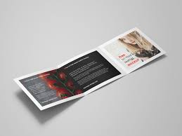 Just add your own custom design inside the smart object and you are done. Square Tri Fold Brochure Mockup Psd Best Free Mockups