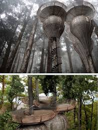 invisible tree house hotel. Roost Tree House Invisible Hotel