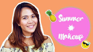 summer makeup for bination to oily skin type using and local philippine s