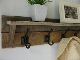 Coat Rack Shelf Adorable Pallet Coat Hangers Reclaimed Wood Coat Hangers Diy Diy Coat Rack