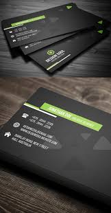 business card template designs 25 professional business cards template designs design graphic