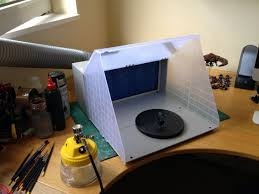 review portable airbrushing spray booth extractor e420