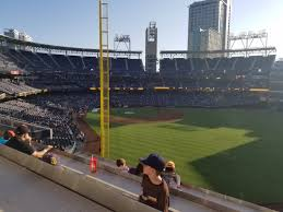 Petco Park Seating Chart Field Box San Diego Padres Seating Guide Petco Park Rateyourseats Com