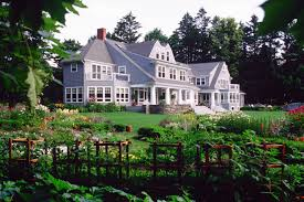 Stroudwater Design Group Gentlemans Farm Estate Colorful Garden Landscape Design
