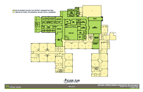 view the architects building plan accessible office space