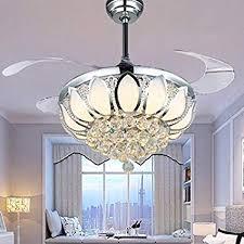 chandelier ceiling fan light kit unique luxury modern crystal chandelier ceiling fan lamp folding ceiling