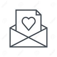 手紙情報グラフィックスweb サイトや印刷媒体に適したメール アイコンが大好きですベクトルフラット