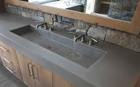 Custom Concrete Bathroom Sinks