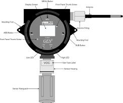 otis instruments oi 6900 wired wire gas detector sensor otis instruments oi 6000 sensor assembly diagram