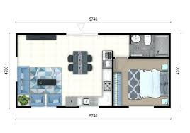 plans 1 house plan converting a double garage into granny flat google search flats designs