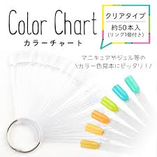 Nail Type Chart Stick Type Color Chart Clear Nail Nail Scalp
