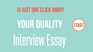 Interview Essay Paper Apa Format Essay Example Paper In Sample