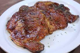 oven baked barbecue pork chops i
