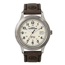 mens timex watches kohl s timex men s expedition leather watch t49870kz