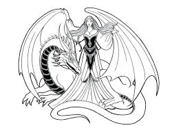Hard Dragon Coloring Pages Dragons Colouring Arresting Playanamehelp