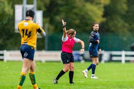 ARU Referee Nikki O'Donnell First Senior International Fixture - ARU