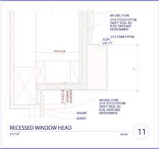 garage door jamb recessed window head