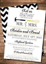 Bridal Shower Template Extraordinary Jack And Jill Shower Invitations Invitation Template Kitchen Bridal