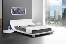 modern bed frames white  the holland  most cozy and modern bed