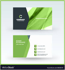 Double Sided Business Card Template Free Download Admirable Double