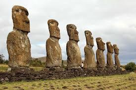 seven moai of au akivi