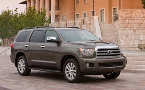 2013 Toyota Sequoia Drops Base V-8, Adds Blu-Ray Player - Truck ...