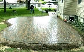 brick per square foot flagstone patio installation cost per square