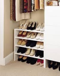diy closet shelves for shoes