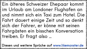 Ein älteres Schweizer Ehepaar Kommt Im Urlaub Am Londoner Flughafen