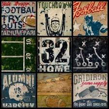 vintage football art for the man cave www walk onu  on vintage sport wall art with vintage football art for the man cave www walk onu man cave