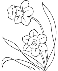 Spring Flower Coloring Pages - GetColoringPages.com