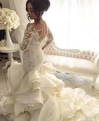 2017 vintage luxury crystal big ball gown satin wedding dress v